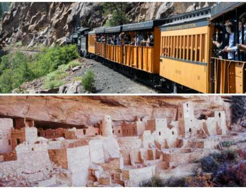 The Old West in Durango, Co And Mesa Verde National Park